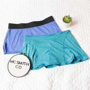 Nike | LOT Dri-Fit Tennis Skirts w/Spandex Shorts